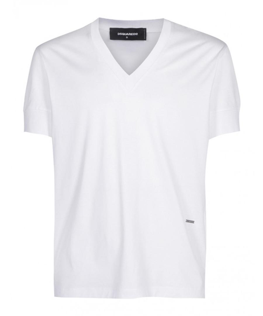 White pure cotton T-shirt Sale - dsquared2