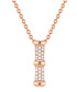Rose gold-plated necklace Sale - lindenhoff Sale