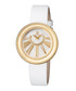 White leather mother-of-pearl watch Sale - gevril Sale