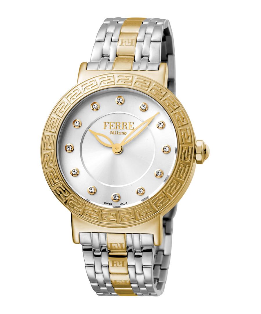Two-tone & silver-tone steel watch Sale - ferre milano