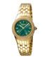 Gold-tone & green steel watch Sale - ferre milano Sale