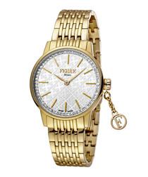 Gold-tone & silver-tone steel watch