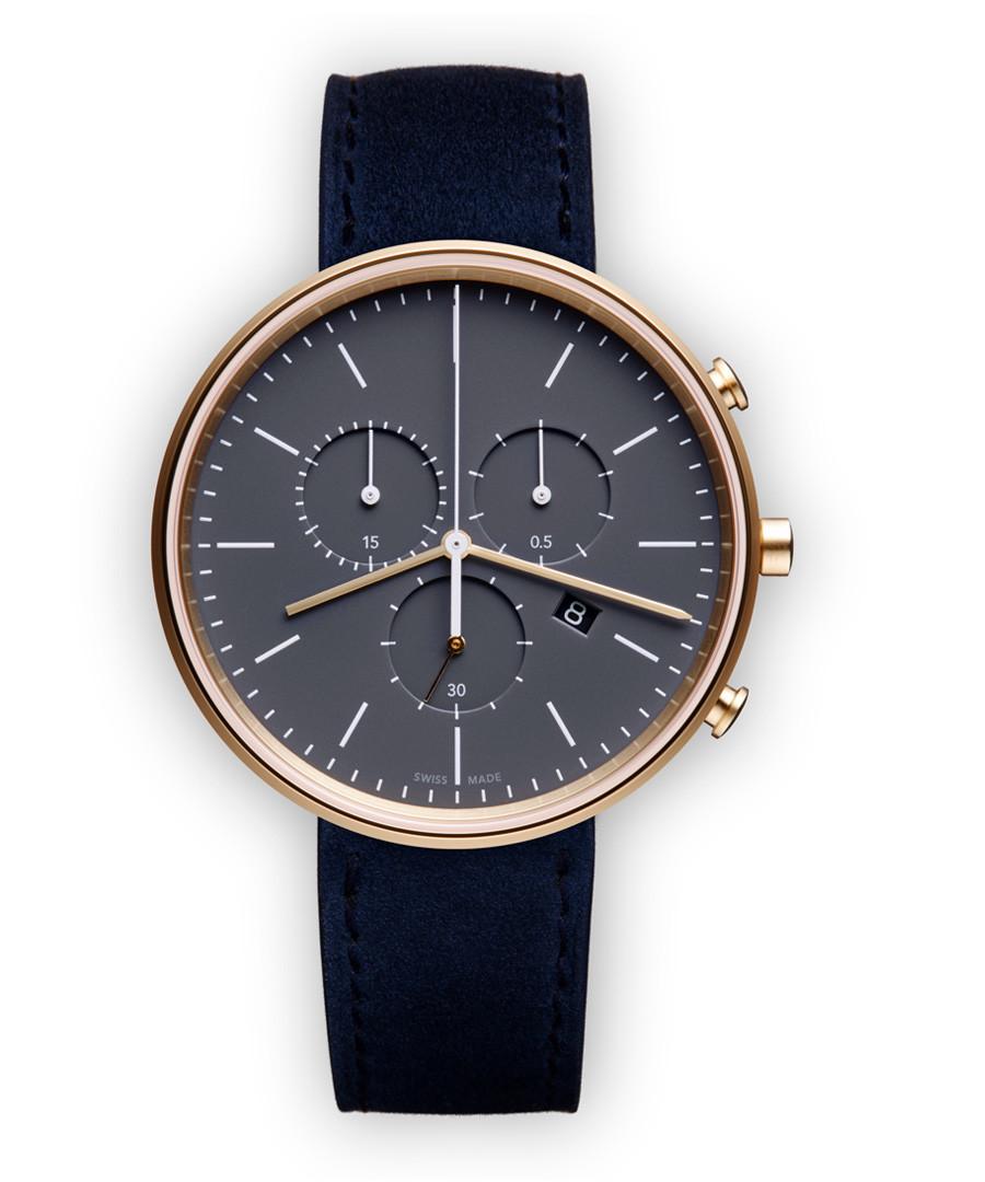 Blue suede watch Sale - Uniform Wares