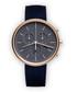 Blue suede watch Sale - Uniform Wares Sale
