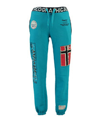 Myer blue graphic tracksuit bottoms