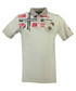 Kamo grey pure cotton grunge polo top Sale - geographical norway Sale