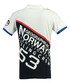 Kanoe white & navy pure cotton polo top Sale - geographical norway Sale