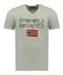 Jimdo grey pure cotton printed top Sale - geographical norway Sale