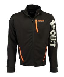 Guniort black sport hoodie