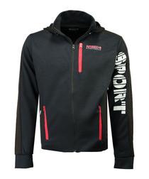 Guniort navy zip-up hoodie