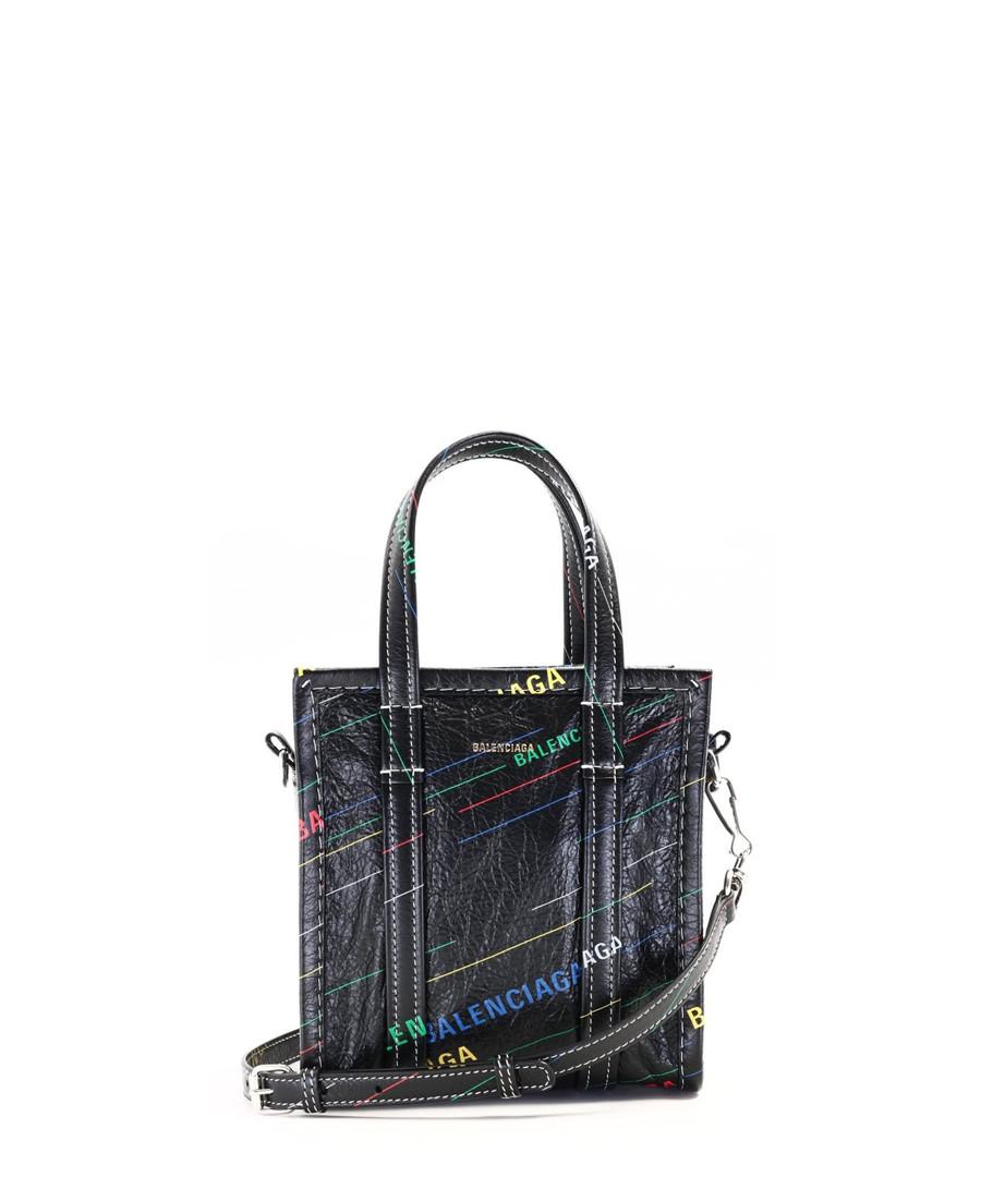 Black leather shopper Sale - balenciaga