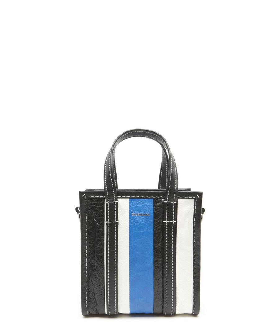 Black blue & white stripe shopper Sale - balenciaga