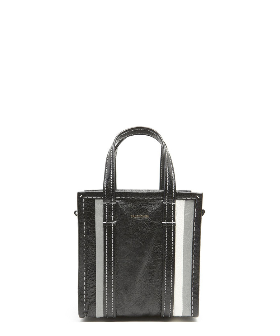Black leather shopper Sale - balenciaga
