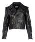 Black leather biker jacket Sale - balenciaga Sale