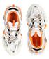 White & orange sneakers Sale - balenciaga Sale