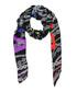 Multi-color pure silk print chain scarf Sale - balenciaga Sale
