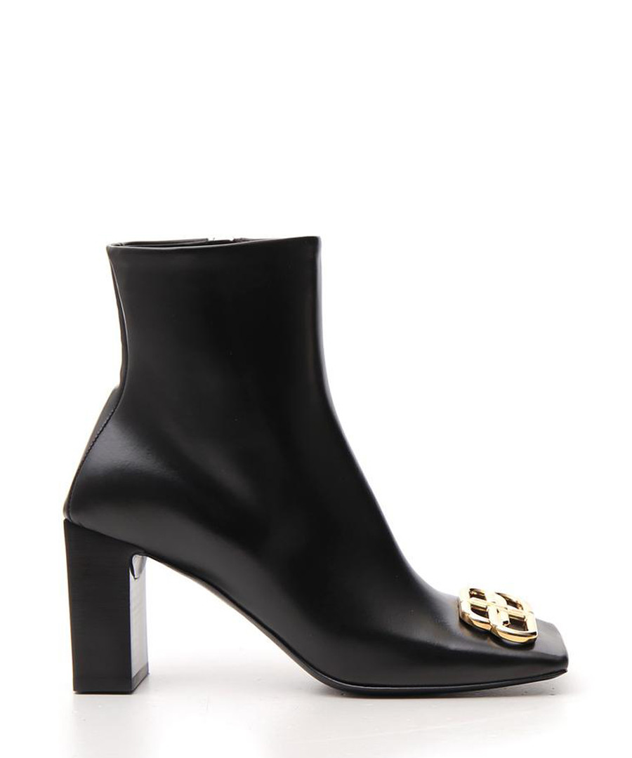Black leather ankle boots Sale - balenciaga
