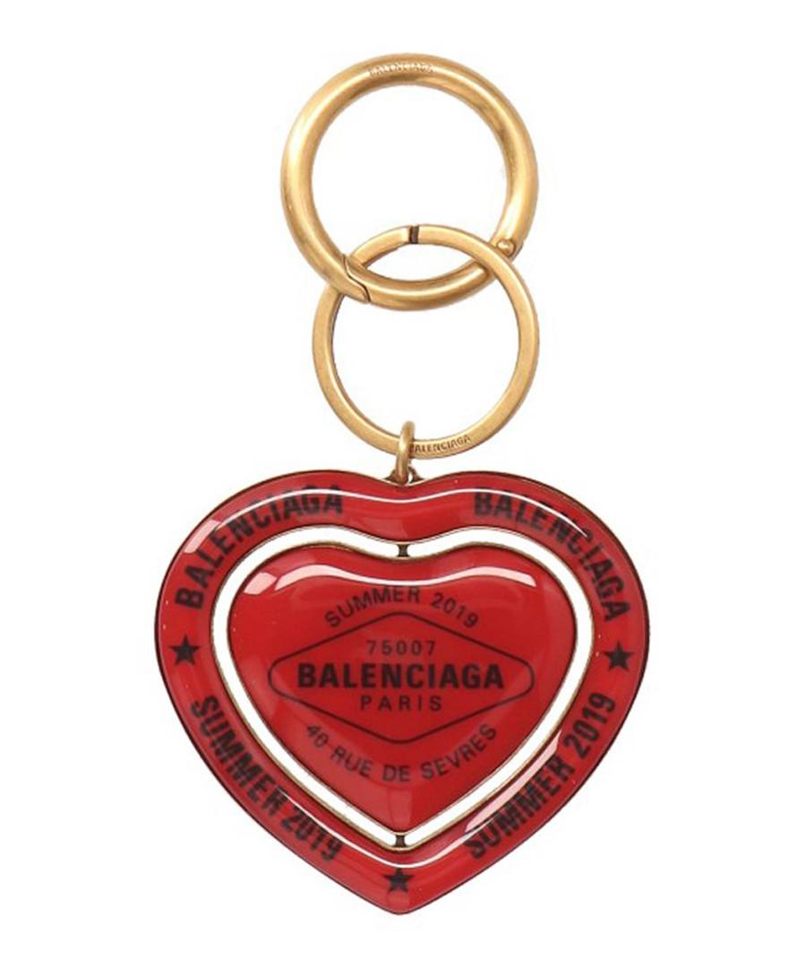 Red heart keyring Sale - balenciaga