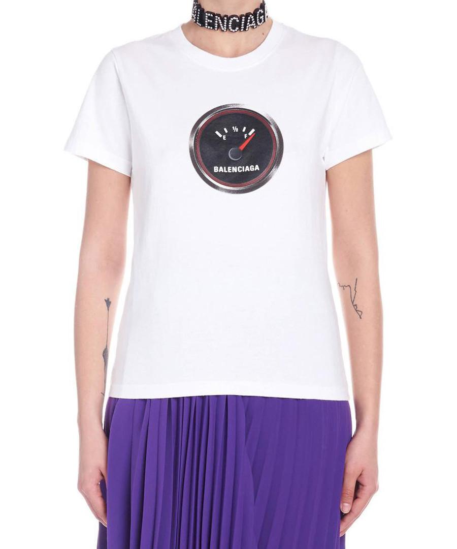 White pure cotton T-shirt Sale - balenciaga