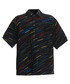 Black multi-colour logo print shirt Sale - balenciaga Sale