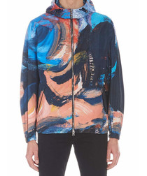 Painter's Canvas shell hooded jacket
