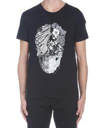 Patchwork Skull black T-shirt