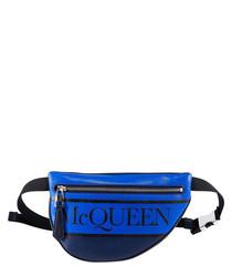 Cobalt logo belt bag