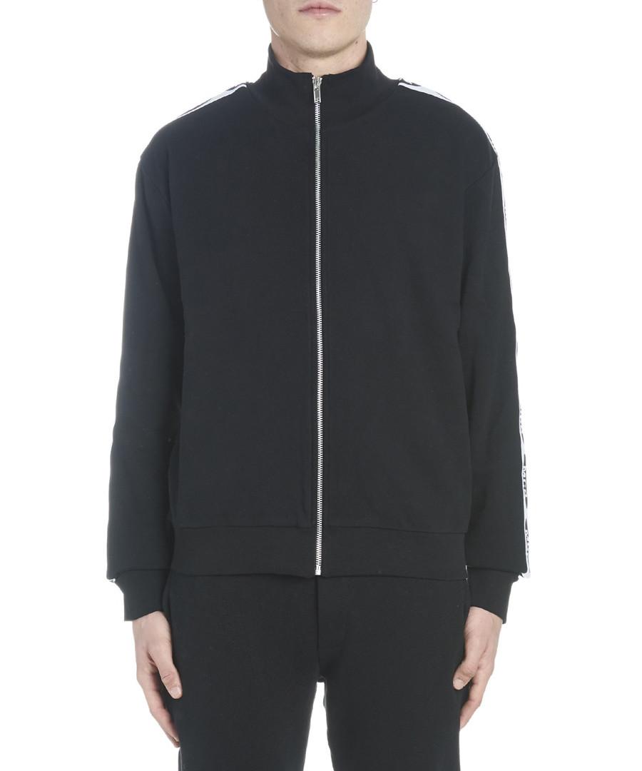 Black pure cotton zip-up jacket Sale - mcq alexander mcqueen