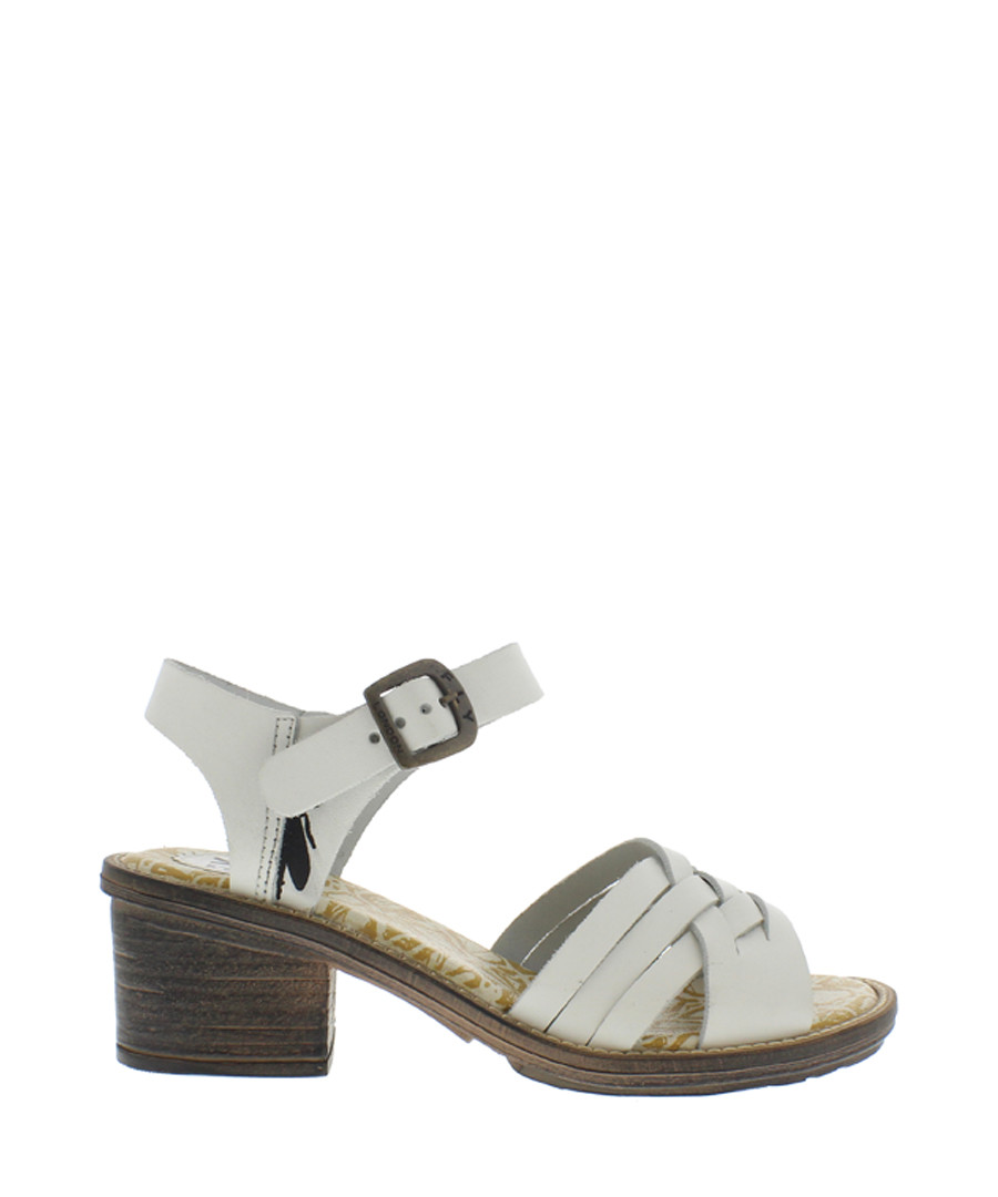 Off white block heel sandals Sale - fly london