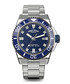 Automatic Diver silver-tone steel watch Sale - Armand Nicolet Sale