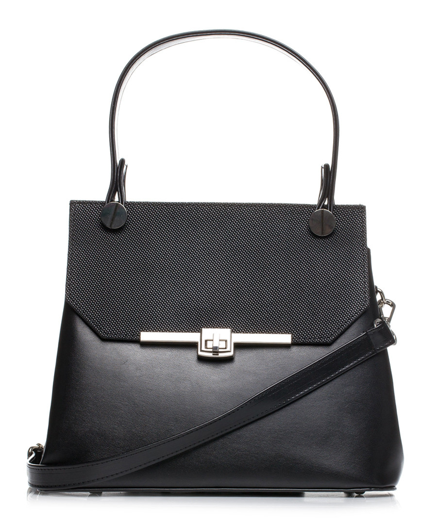 Black trapeze grab bag Sale - stylove bags