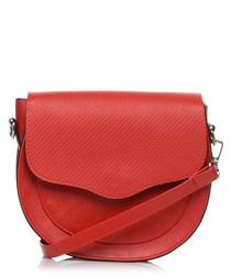 Red mini shoulder bag