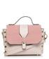 Powder studded shoulder bag Sale - stylove bags Sale