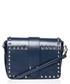Blue studded shoulder bag Sale - stylove bags Sale