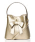 Gold-tone bow bucket bag Sale - stylove bags Sale