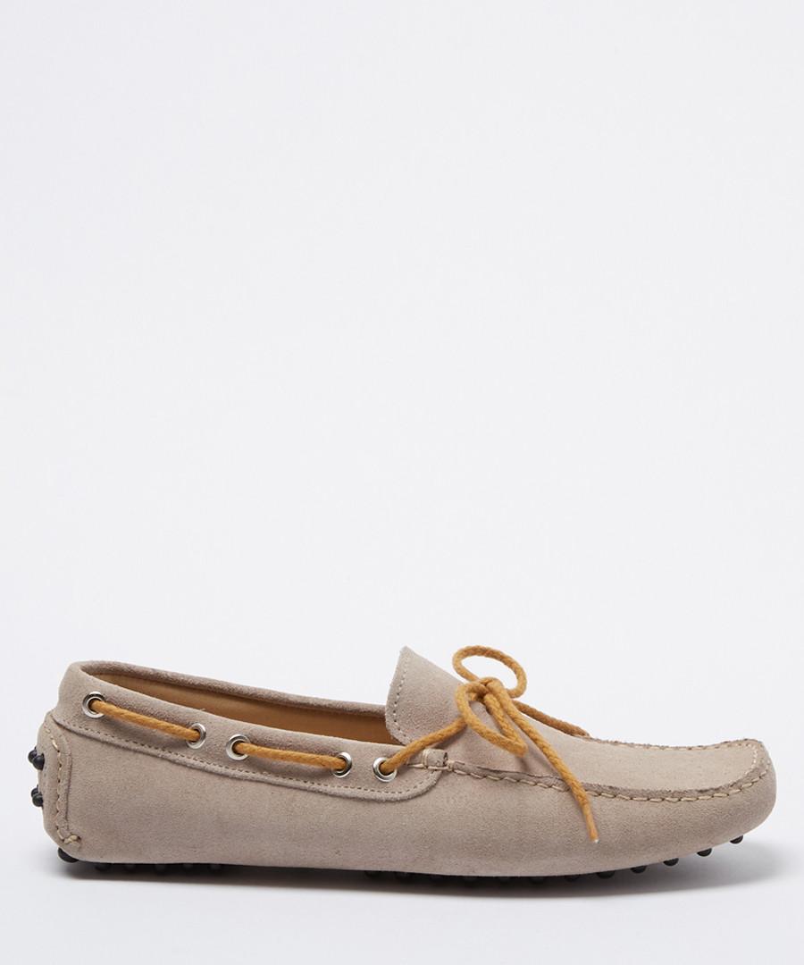 Moccasins sand suede loafers Sale - moka saint