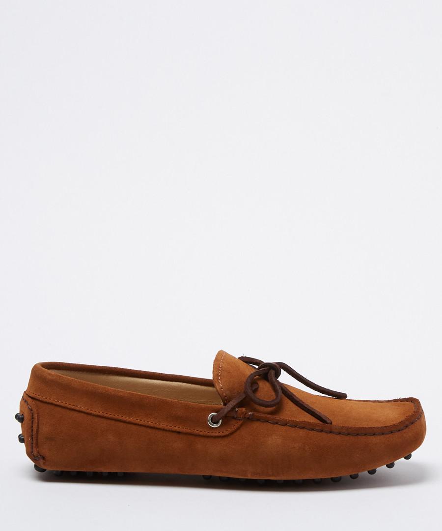 Moccasins setter suede loafers Sale - Moka Saint