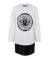 White pure cotton logo dress Sale - balmain kids Sale