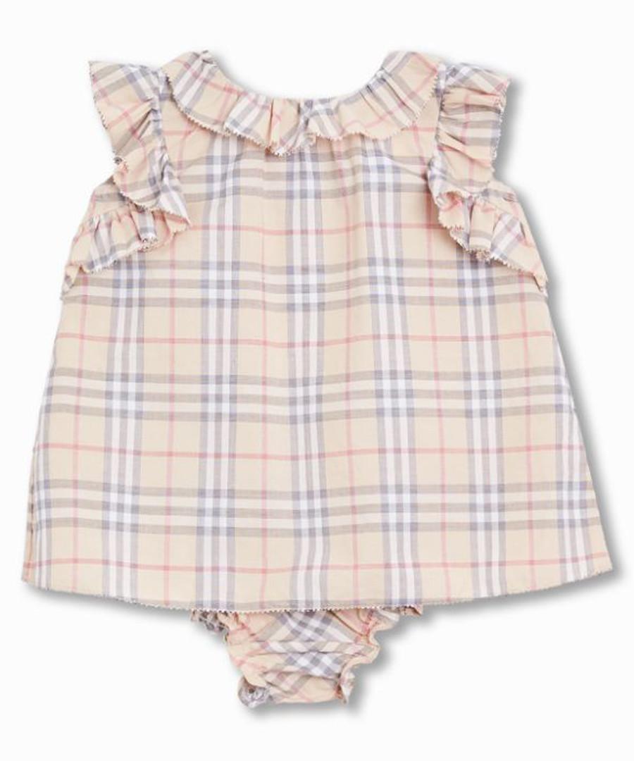 Multi-colour pure cotton check dress Sale - burberry