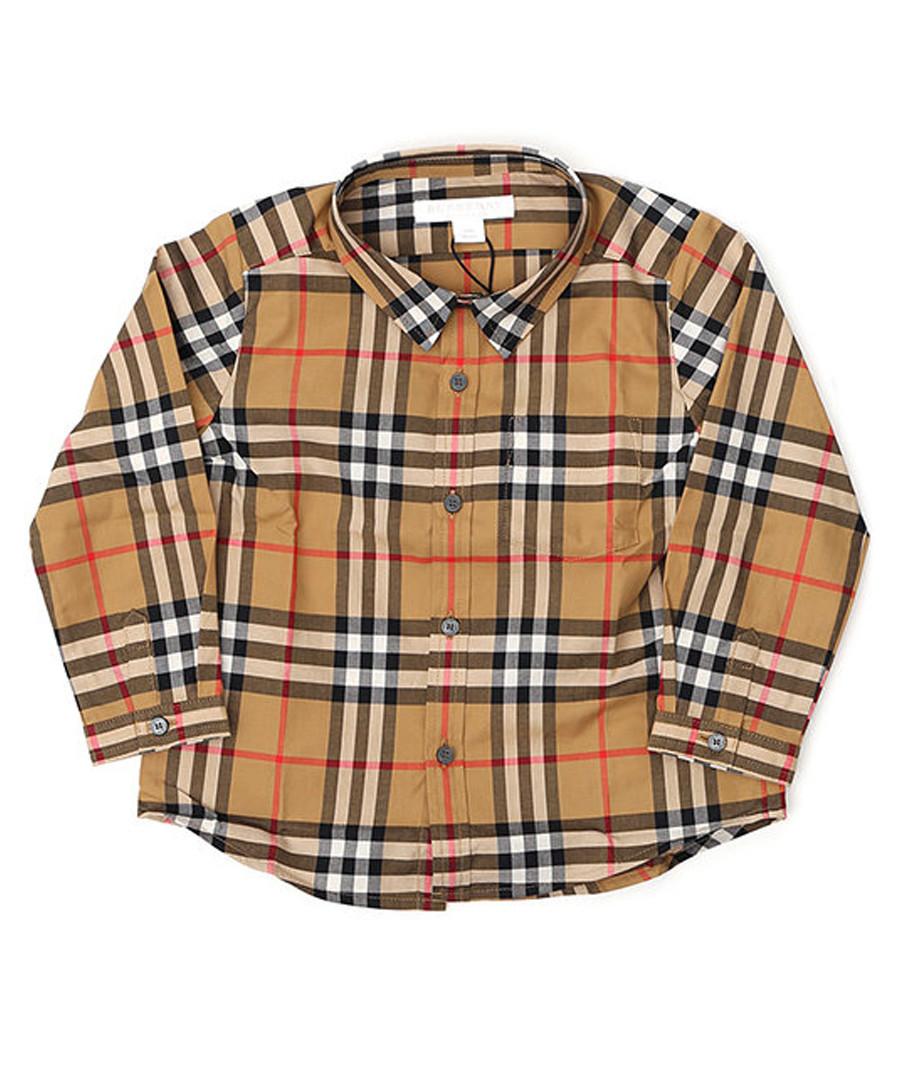 Multi-colour pure cotton check shirt Sale - burberry