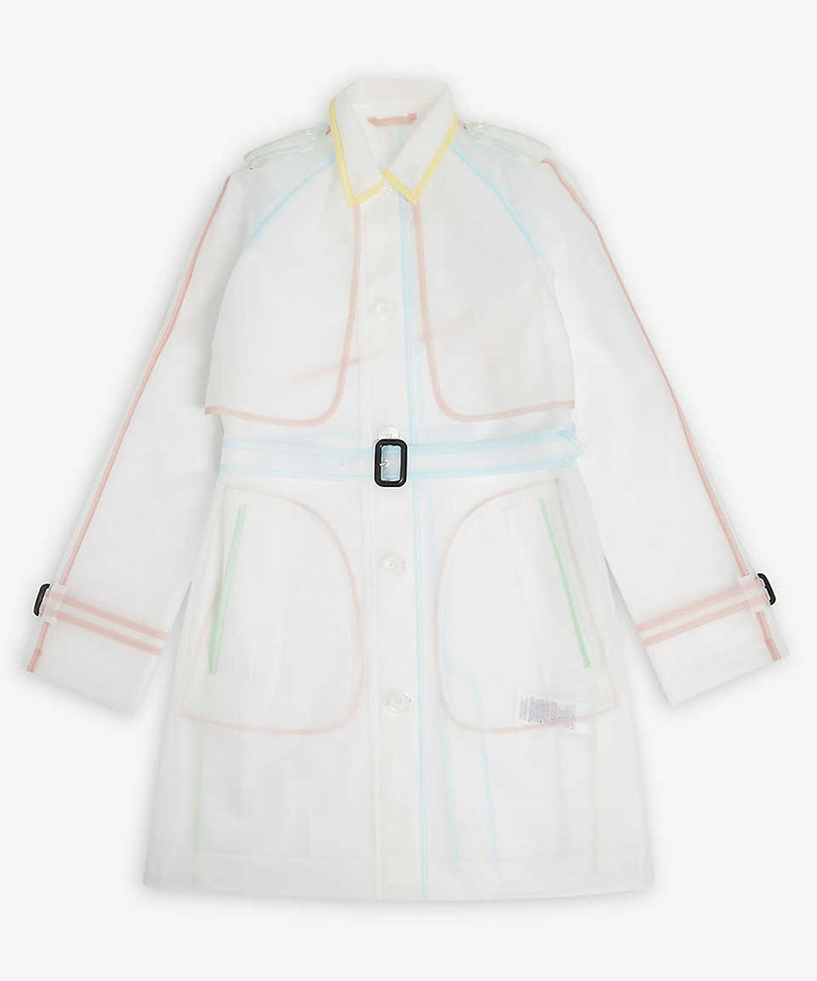 Transparent trench coat Sale - burberry