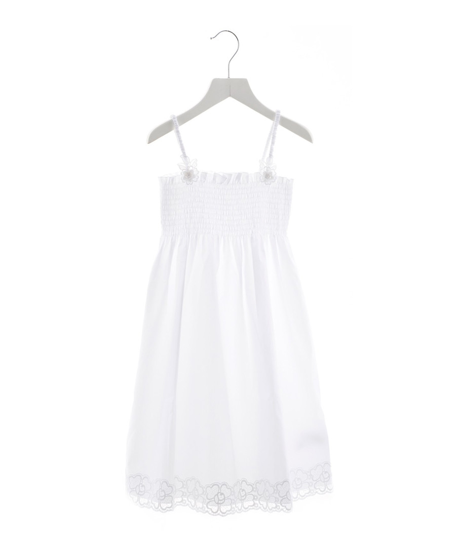 White pure cotton dress Sale - dolce & gabbana