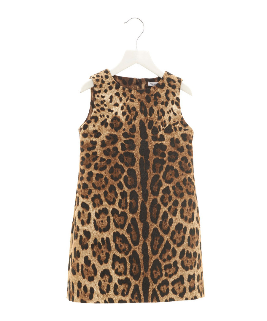 Multi-colour pure cotton leopard dress Sale - dolce & gabbana