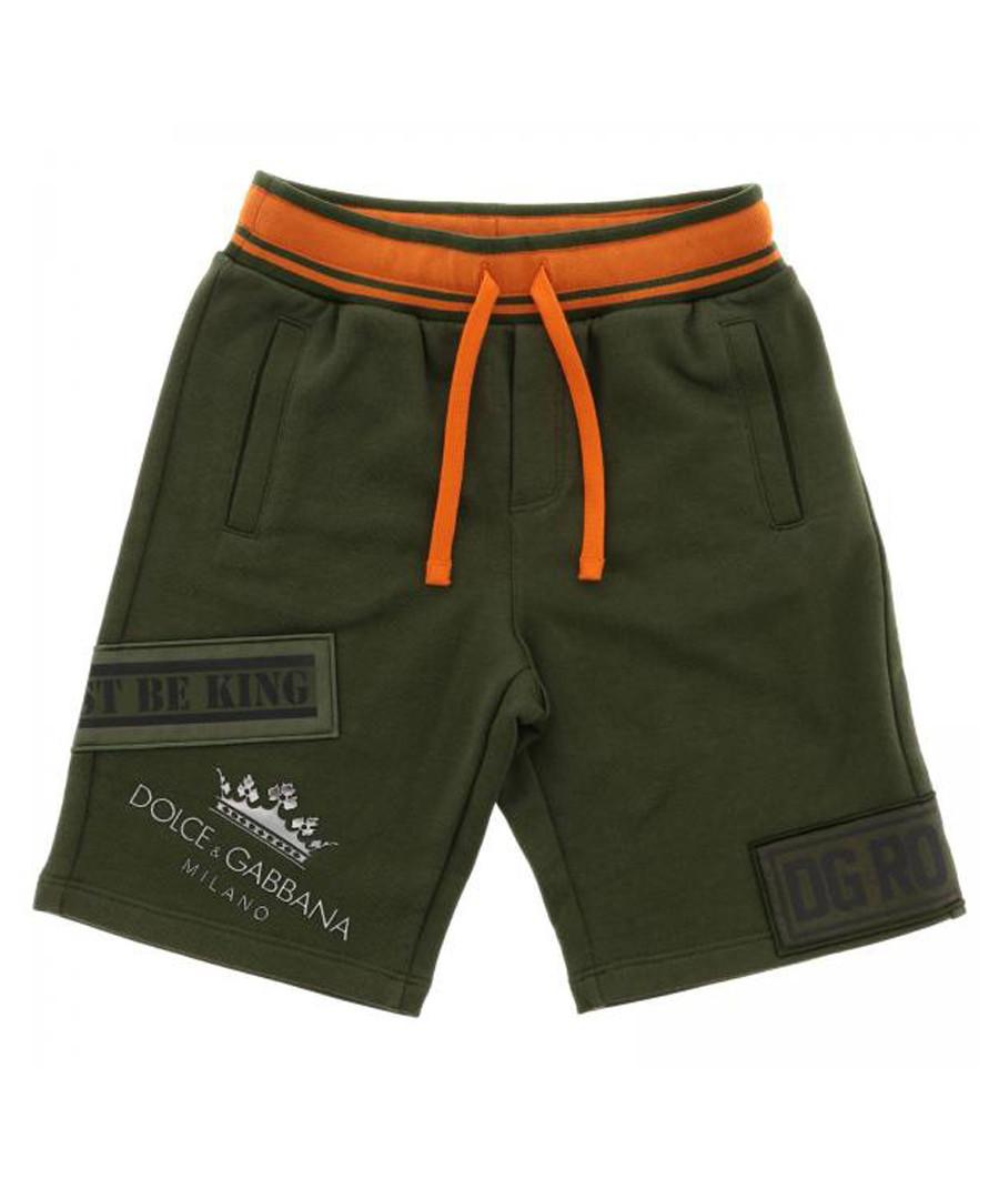Multi-colour pure cotton shorts Sale - dolce & gabbana