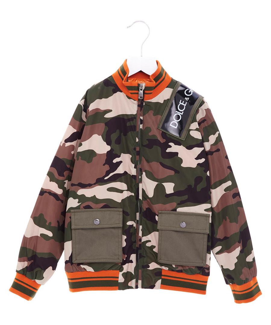 Multi-colour pure cotton camo jacket Sale - dolce & gabbana