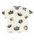 White pure cotton crown print T-shirt Sale - dolce & gabbana Sale