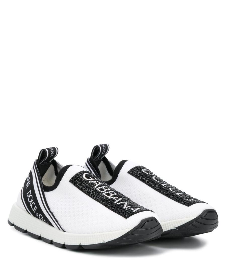White logo sneakers Sale - dolce & gabbana
