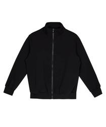 Black pure cotton sweatshirt