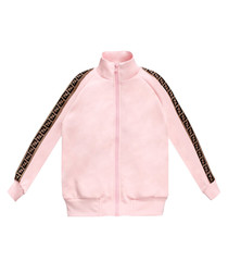 Pink pure cotton sweatshirt