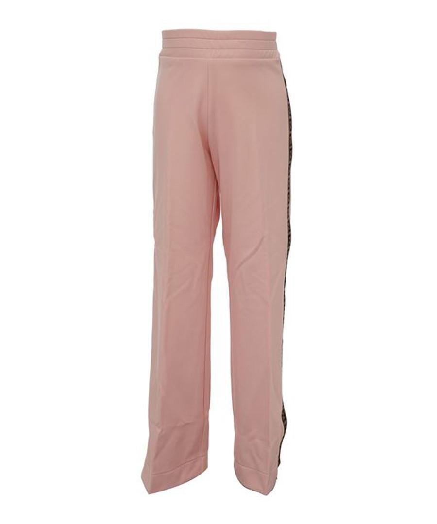 Pink pure cotton casual trousers Sale - fendi kids